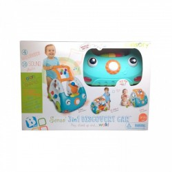 BLUE BOX - SENSO' 3 IN 1 DISCOVERY CAR