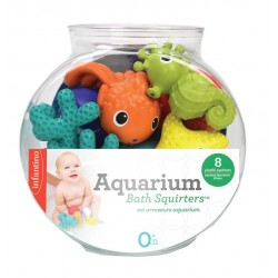 INFANTINO - AQUARIUM BATH SQUIRTERS