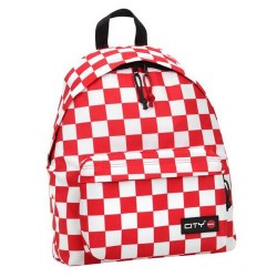 LYCSAC - BACKPACK   CHECKERS   RED14617 LYCSAC 2020