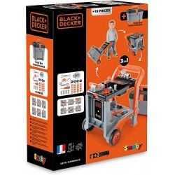SMOBY - BLACK AND DECKER DIABLE+BOITE