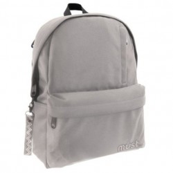 MUSTE - SAC A DOS MUST PASTEL GRIS