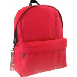 MUSTE - SAC A DOS MUST ROUGE