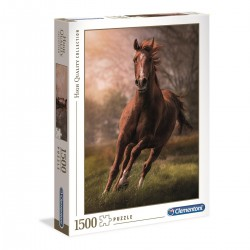 CLEMENTONI - PUZZLE HIGH QUALITY 1500 PCS - THE HORSE