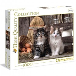 CLEMENTONI - PUZZLE HIGH QUALITY 1000 PCS - LOVELY KIT