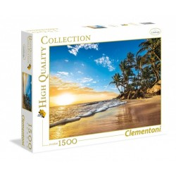 CLEMENTONI - PUZZLE HIGH QUALITY 1500 PCS - TROP SUNRISE