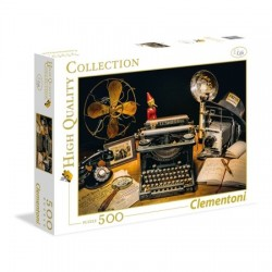 CLEMENTONI - PUZZLE HIGH QUALITY 500 PCS - THE TYPEWRITER
