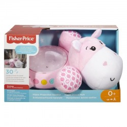 FISHER PRICE - HIPPO DOUCE NUIT ROSE