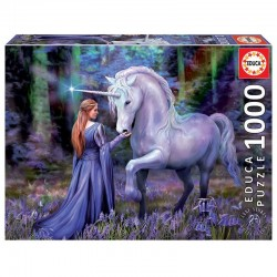 EDUCA - PUZZLE 1000 BLUEBELL WOODS, ANNE STOKES