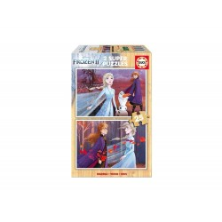 EDUCA - PUZZLE 2X25 LA REINE DES NEIGES 2