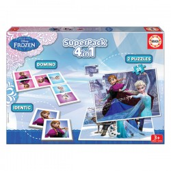 EDUCA - SUPERPACK LA REINE DES NEIGES 2