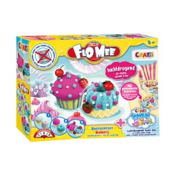 CRAZE MAGIC - FLO MEE AND CLOUD SLIME IN DIFFERENT COLOURS 15063