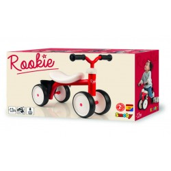 SMOBY - PORTEUR ROOKIE ROUGE