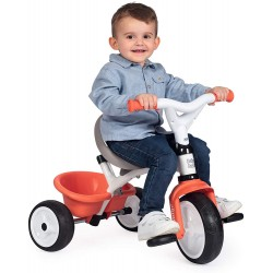 SMOBY - TRICYCLE BABY BALADE ROUGE