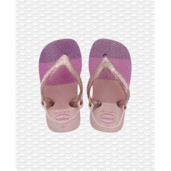 HAVAIANAS - BABY PALETTE GLOW CANDY PINK B04