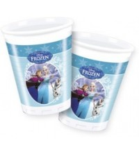 TOOPTY - 8 GOBLET PLASTIQUE FROZEN 85428