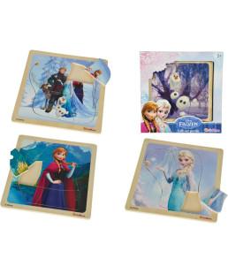 Puzzle Bouton Frozen 7051713