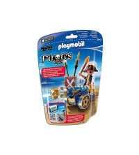 Blue Interactive Cannon with Pirate 6164
