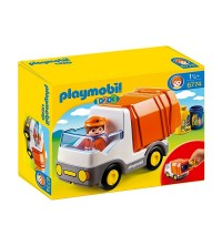PLAYMOBIL - 1.2.3 RECYCLING TRUCK