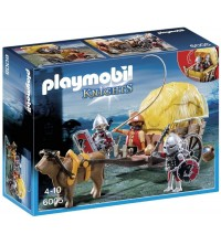 PLAYMOBIL - HAWK KNIGHT'S WITH CAMOUFLAGE WAGON