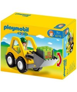 PLAYMOBIL - 1.2.3 EXCAVATOR