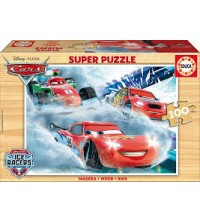 Puzzle bois New Cars 16800