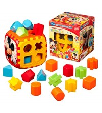 MICKEY MOUSE SHAPE SORTER CUBE