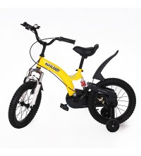 "VELO SUSPONSION 16"" JAUNE"