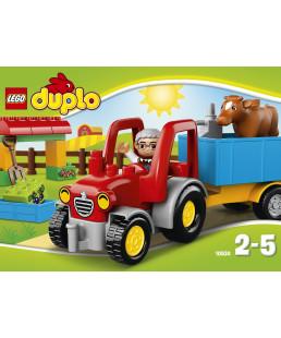 LEGO - LE TRACTEUR DE LA FERME REF 10524