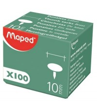 BOITE 100 PUNAISE CUIVRE 10MM MAPED