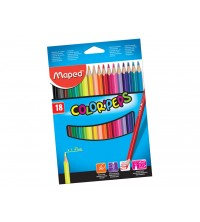 CRAYON COULEUR DE 18 MAPED