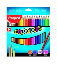 CRAYON COULEUR DE 24 MAPED