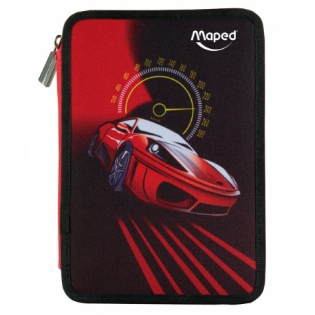 TROUSSE SCOLAIRE GARNIE CARS MAPED