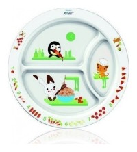 ASSIETTE LAPIN A COMPARTIMENTS12M+