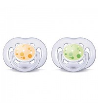 2 SUCETTES ORTHODONTIQUES ULTRA AEREES 6-18M SANS BPA PS