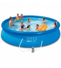 Piscine Intex EASY SET Auto Portante 457?84 CM Avce Filtre