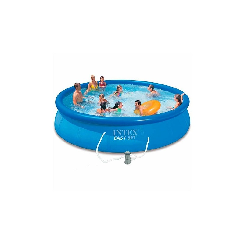 Achatpiscine intex easy set auto portante 457 84 cm avce for Piscine portante