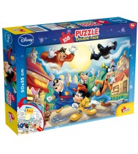 Puzzle DF 108 pcs Mickey mouse detective 48021