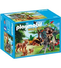 PLAYMOBIL - Lynx Family with Cameraman