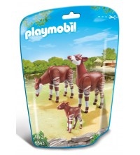 PLAYMOBIL - Okapi Family