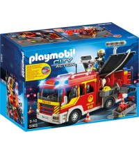 PLAYMOBIL - Fire Engine with Lights and Sound
