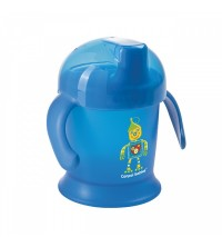 CANPOL - TASSE ANTIDÉVERSEMENT À ANSES 200ML - SMILEY REF 31/300