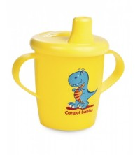 CANPOL - TASSE ANTIDÉVERSEMENT 250ML DINO COLLECTION REF 31/200