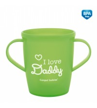 CANPOL - TASSE À ANSES 250ML I LOVE MUMMY DADDY REF 31/208
