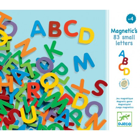 DJECO - 83 magnetic small letters
