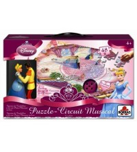 EDUCA - PUZZLE CIRCUIT MUSICAL PRINCESSE 13953