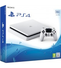 SONY - CONSOLE PS4 SLIM 4 500 Go BLANCHE