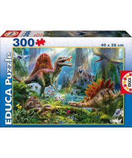 EDUCA - PUZZLE 300 PIÈCES DINOSAURES