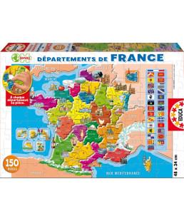 EDUCA - LES DÉPARTEMENTS DE LA FRANCE 14957