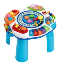WINFUN - LETTRE TRAIN AND PIANO ACTIVITY TABLE