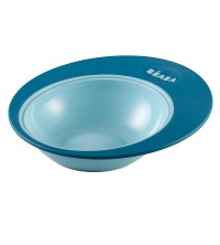 "BEABA - ASSIETTE ERGO ""ELLIPSE"" BLUE"
